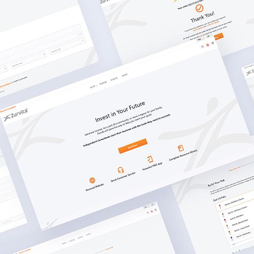 Custom Enrollment Pages