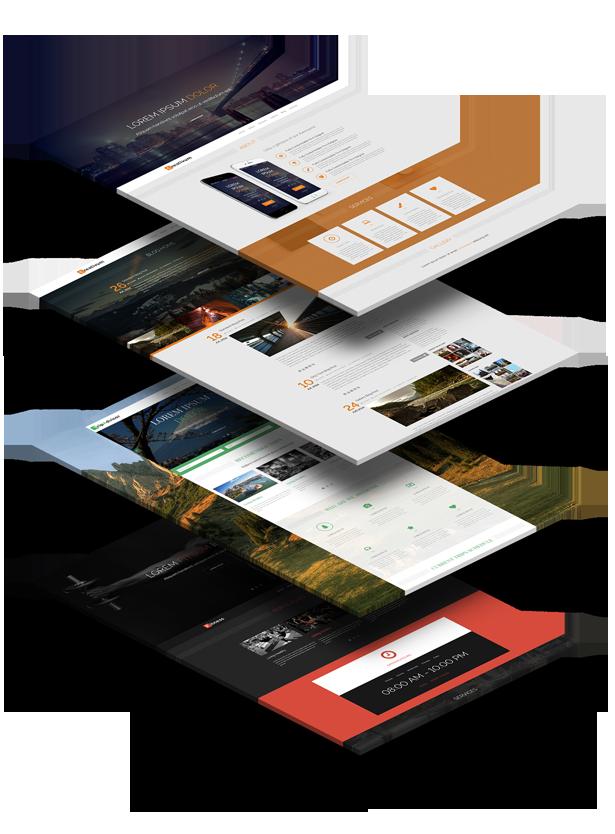 Createa HTML Multipurpose Onepage Template